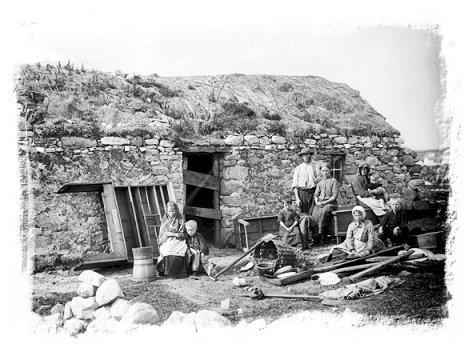 Na Tiarnaí Talún, Gweedore
