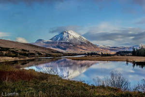 Errigal Mountain in Gweedore, Donegal