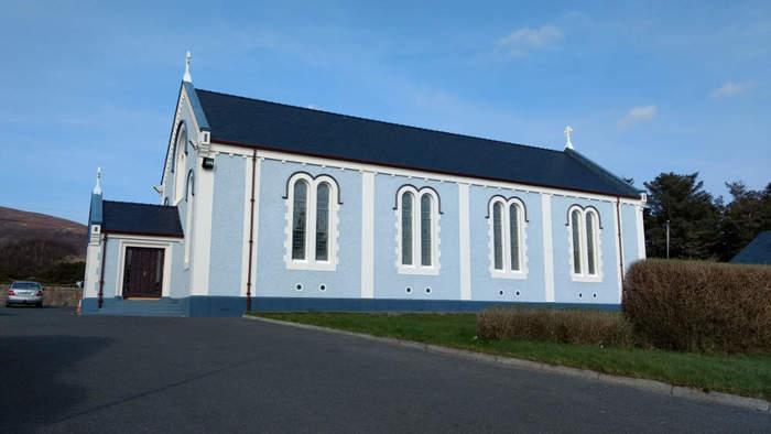 St. Columcilles Chapel, Cnoc Fola, Gweedore