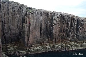 Gola Island Rock Climbing, Gweedore