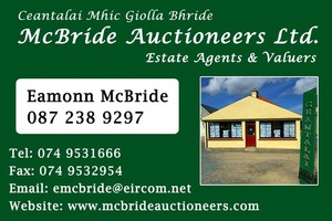 Mc Bride Auctioneers Ltd, Gweedore