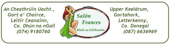 Salon Frances, Gweedore