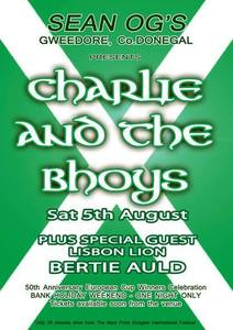 Ceol le 'Charlie & The Bhoys', Gweedore