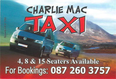 Taxi Charlie Mac, Gweedore