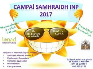 Campaí Samhraidh INP, Gweedore
