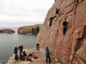 Rock Climbing in Gweedore, Donegal